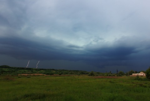 Линейная молния, Житловка